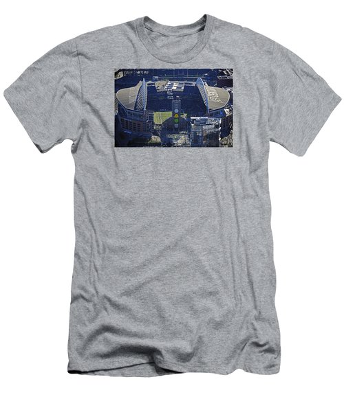 Men's T-Shirt (Slim Fit) featuring the photograph Seahawk Stadium by Jack Moskovita