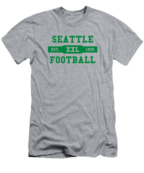 Seahawks Retro Shirt Men's T-Shirt (Slim Fit) by Joe Hamilton