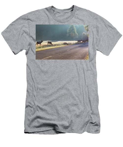 Searching For Greener Grass Men's T-Shirt (Athletic Fit)