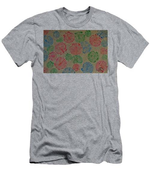 Seashells By The Seashore Men's T-Shirt (Athletic Fit)