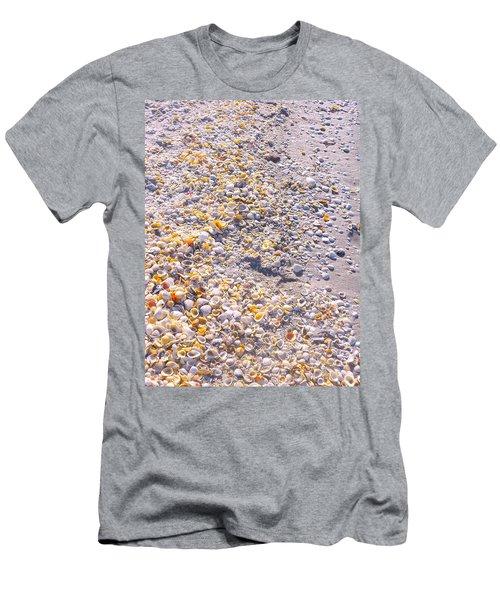 Seashells In Sanibel Island, Florida Men's T-Shirt (Athletic Fit)