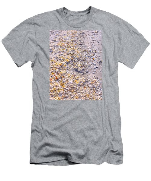 Seashells In Sanibel Island, Florida Men's T-Shirt (Athletic Fit)
