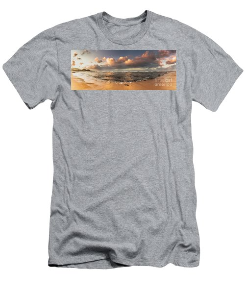Seashore Splendour Men's T-Shirt (Athletic Fit)