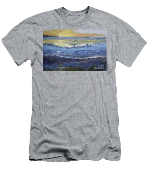 Seaside Men's T-Shirt (Slim Fit) by Mary Hubley