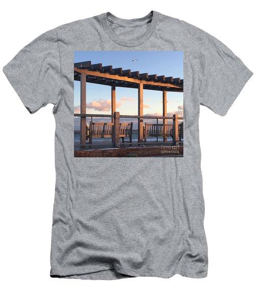 Seaside Seating  Men's T-Shirt (Athletic Fit)