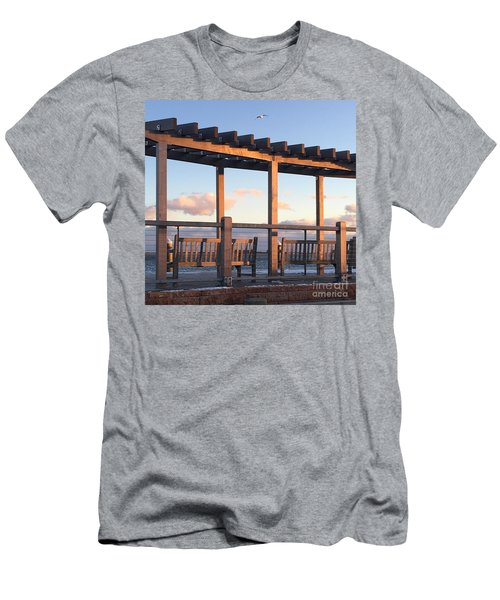 Seaside Seating  Men's T-Shirt (Athletic Fit)