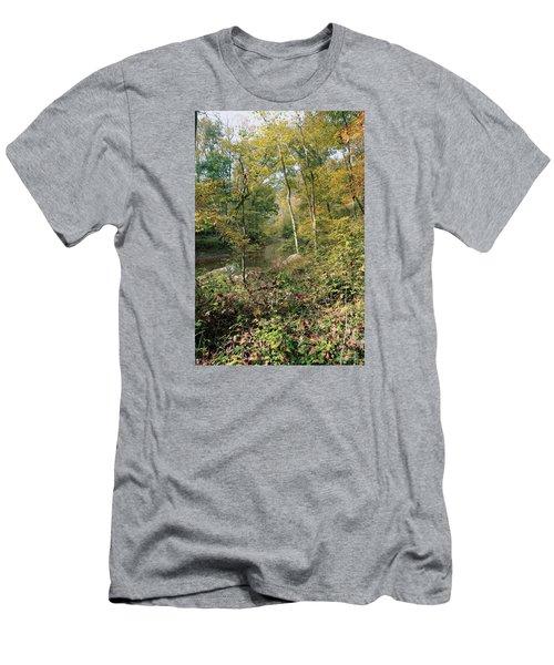 Season Of Change Men's T-Shirt (Slim Fit) by John Rivera