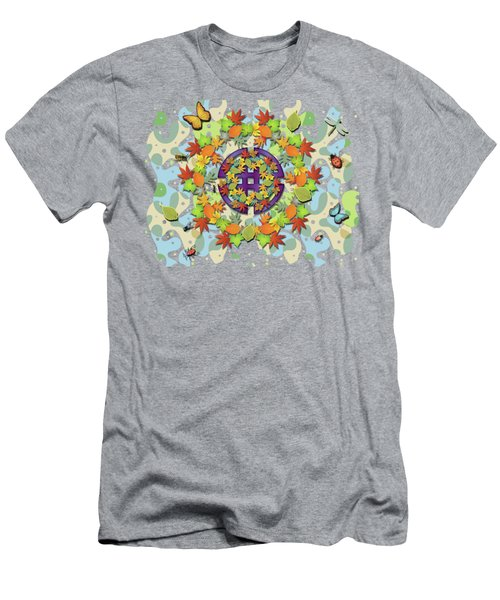 Seasonal Cycle Men's T-Shirt (Athletic Fit)