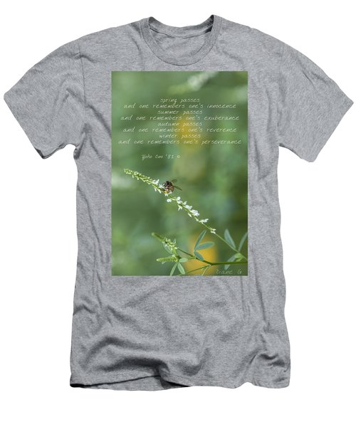 Seasons Men's T-Shirt (Slim Fit) by Diane Giurco