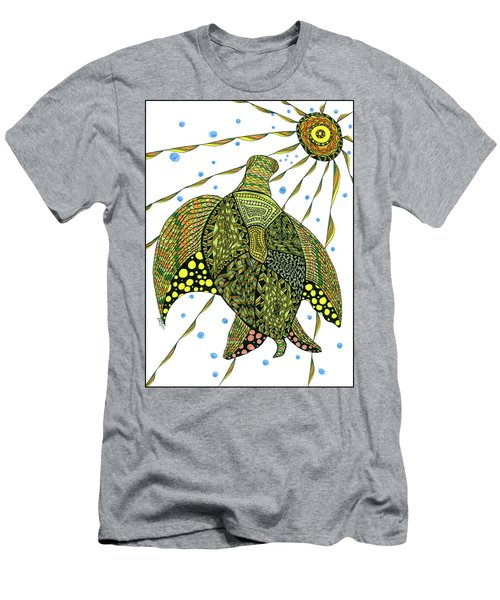 Seaturtle  Men's T-Shirt (Athletic Fit)