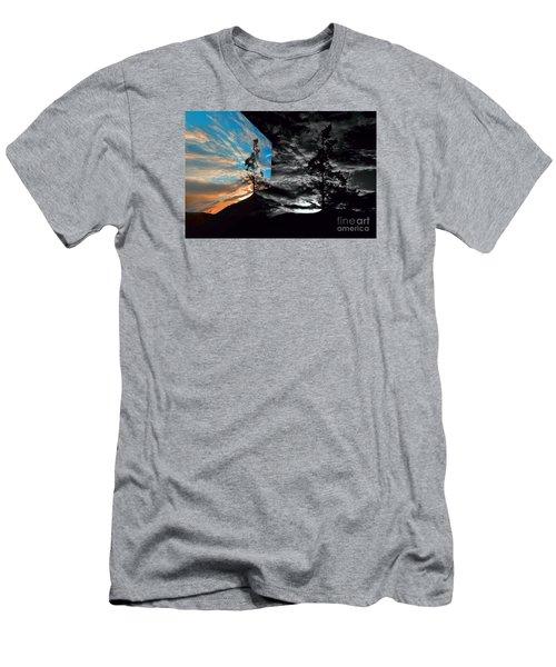 Sechelt Tree Series 3 Men's T-Shirt (Slim Fit) by Elaine Hunter