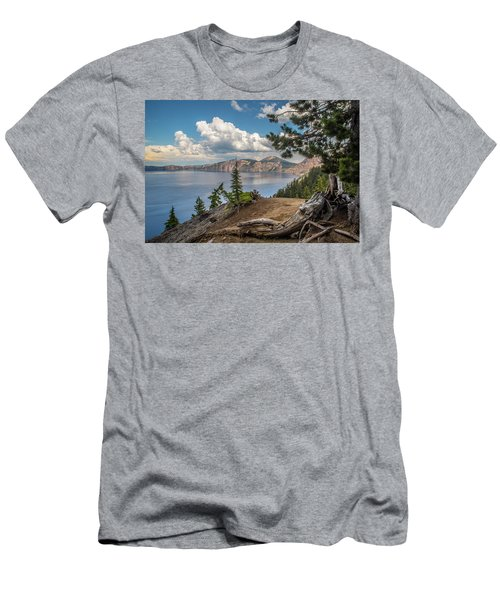 Second Crater View Men's T-Shirt (Athletic Fit)