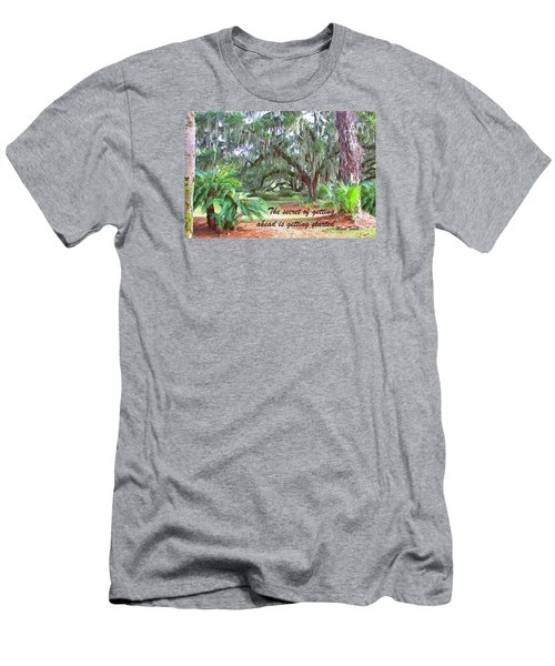 Secret Pathway Men's T-Shirt (Athletic Fit)