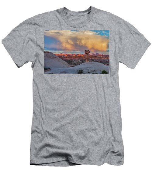 Secret Spire Sunset 2 Men's T-Shirt (Athletic Fit)