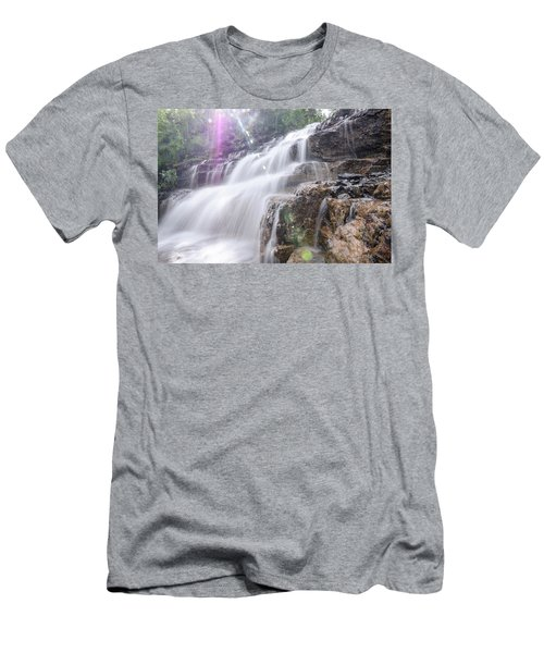 Men's T-Shirt (Athletic Fit) featuring the photograph Secret Waters Flow by Margaret Pitcher