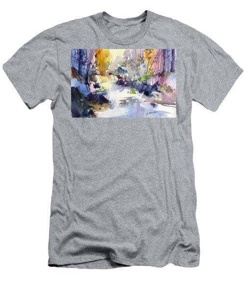 Secret Falls Men's T-Shirt (Athletic Fit)