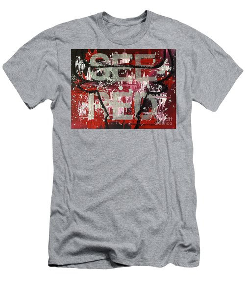 See Red Chicago Bulls Men's T-Shirt (Athletic Fit)