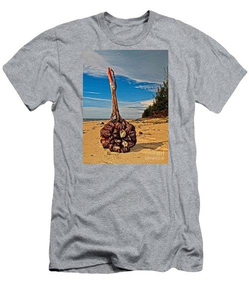 Seeds For The World Men's T-Shirt (Slim Fit) by Gary Bridger