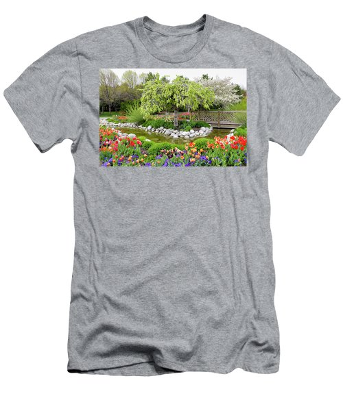 Seeing Beauty In All Things Men's T-Shirt (Slim Fit) by James Steele