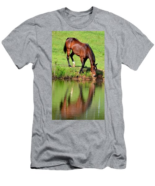 Seeing My Own Reflection Men's T-Shirt (Athletic Fit)