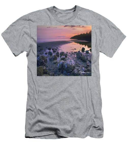 Semiahmoo Bay Men's T-Shirt (Athletic Fit)