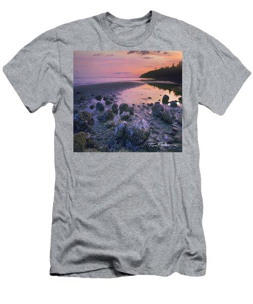 Semiahmoo Bay Men's T-Shirt (Athletic Fit)