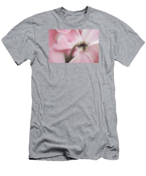 Sensuous Cyclamen Men's T-Shirt (Slim Fit)