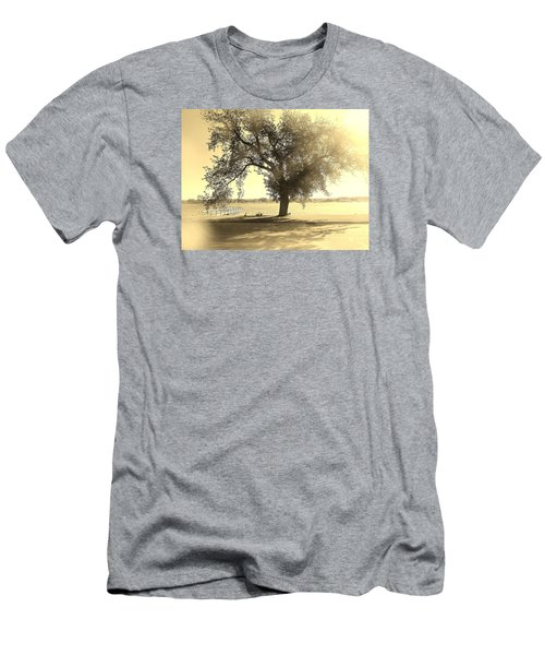 Sepia Colors In A Tree Men's T-Shirt (Athletic Fit)