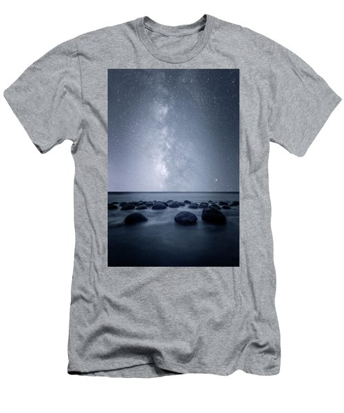 Men's T-Shirt (Slim Fit) featuring the photograph Septarian Concretions by Dustin LeFevre