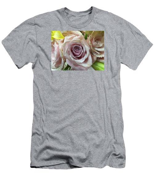 September Rose Men's T-Shirt (Slim Fit) by Russell Keating