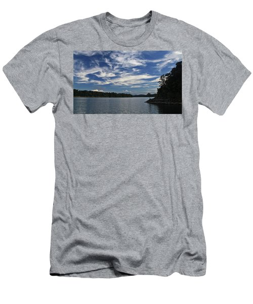Serene Skies Men's T-Shirt (Athletic Fit)