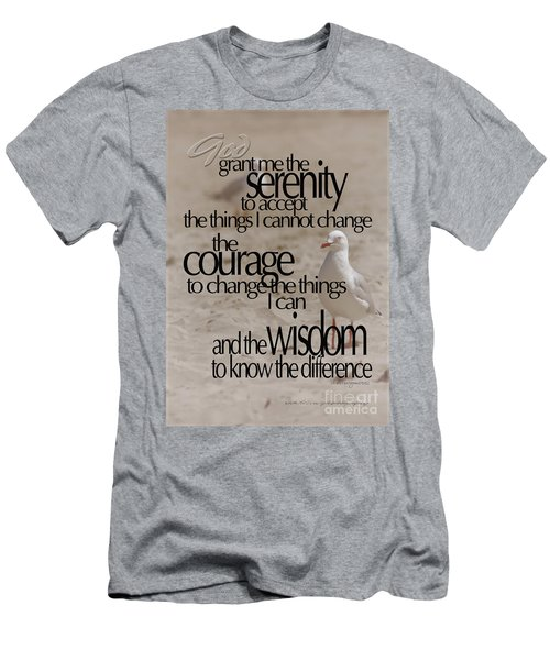 Serenity Prayer 01 Men's T-Shirt (Athletic Fit)
