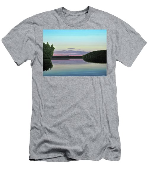 Serenity Skies Men's T-Shirt (Athletic Fit)