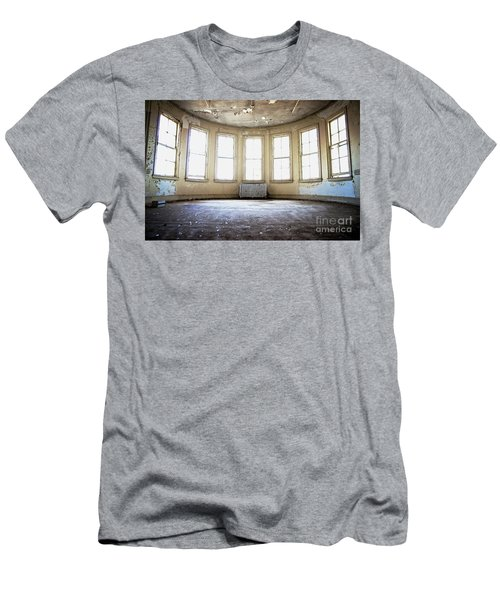 Men's T-Shirt (Slim Fit) featuring the photograph Seven Windows by Randall Cogle