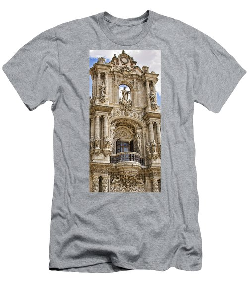 Men's T-Shirt (Athletic Fit) featuring the photograph Seville Ornamental Art, Spain by Tatiana Travelways