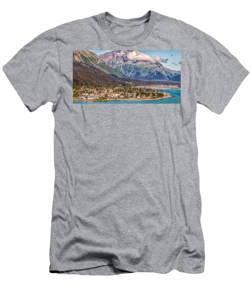 Men's T-Shirt (Slim Fit) featuring the photograph Seward Alaska by Michael Rogers