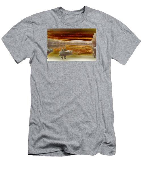 Seyon Sunset Men's T-Shirt (Slim Fit)