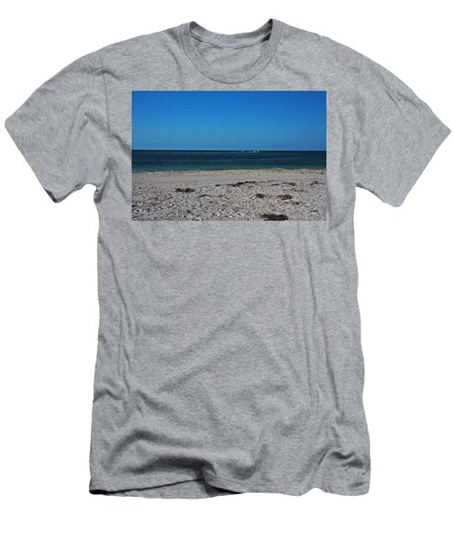 Men's T-Shirt (Athletic Fit) featuring the photograph Shades Of Blue by Michiale Schneider