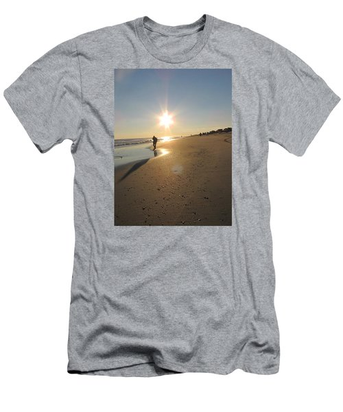 Shadow In The Sun Men's T-Shirt (Athletic Fit)
