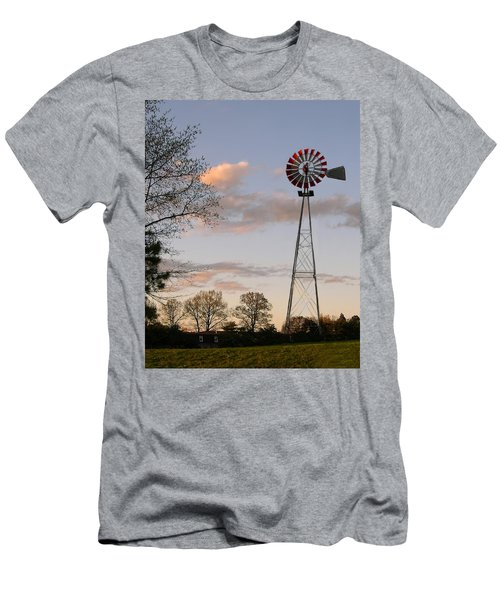 Men's T-Shirt (Slim Fit) featuring the photograph Shadows Fall  by Bonnie Willis