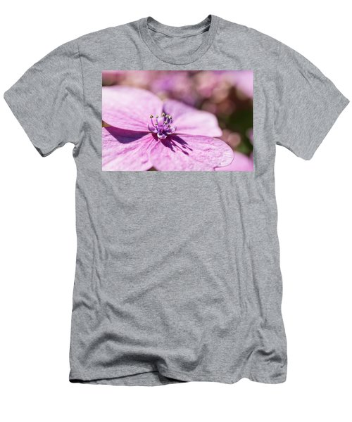 Shadows In Pink Men's T-Shirt (Athletic Fit)