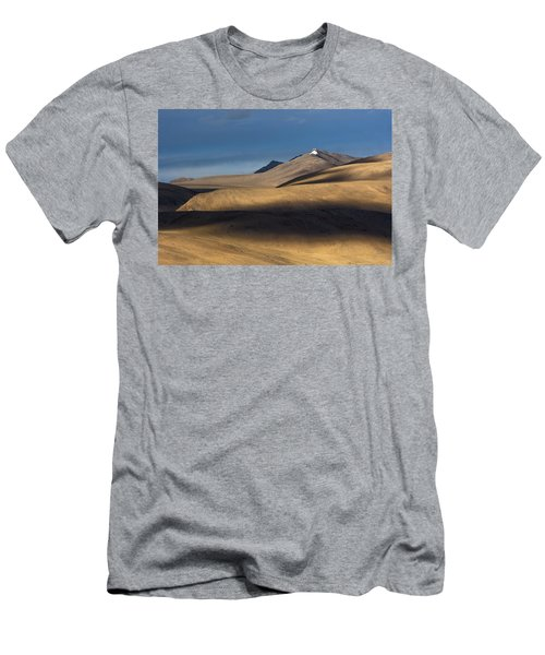 Shadows On Hills Men's T-Shirt (Athletic Fit)