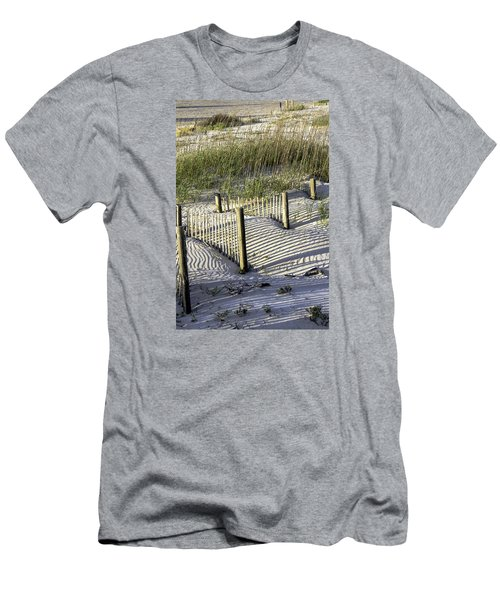 Shadows On The Dune Men's T-Shirt (Athletic Fit)