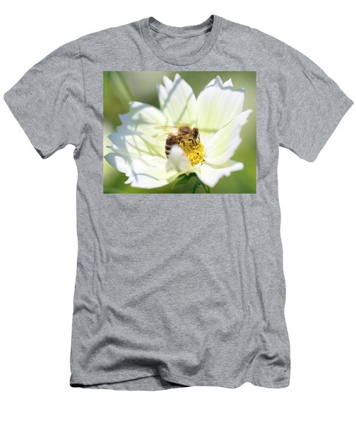 Men's T-Shirt (Athletic Fit) featuring the photograph Shadowy Bee by Brian Hale