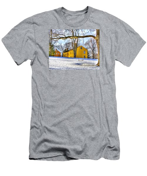 Shaker Swing In Winter 2 Men's T-Shirt (Athletic Fit)
