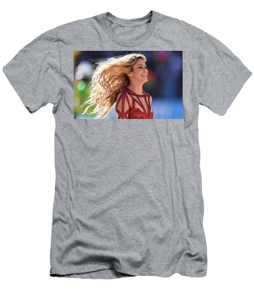 Shakira Brazil Men's T-Shirt (Athletic Fit)