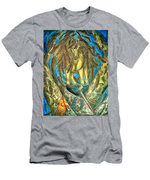 Shaman Spirit Men's T-Shirt (Athletic Fit)