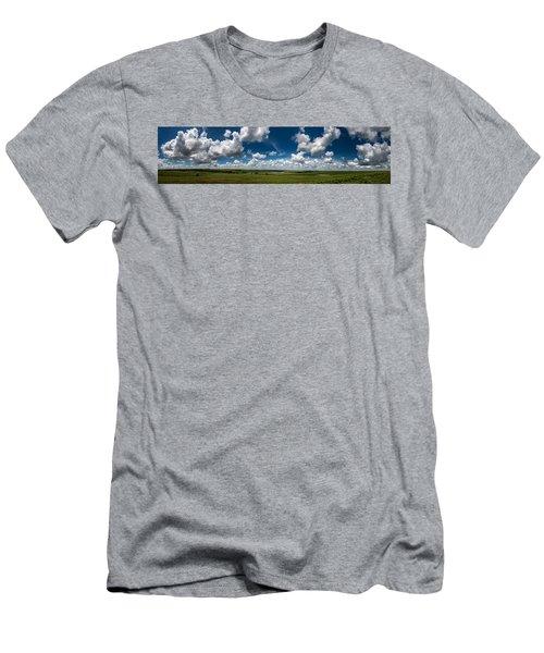 Sharps Creek Road Panorama Men's T-Shirt (Athletic Fit)
