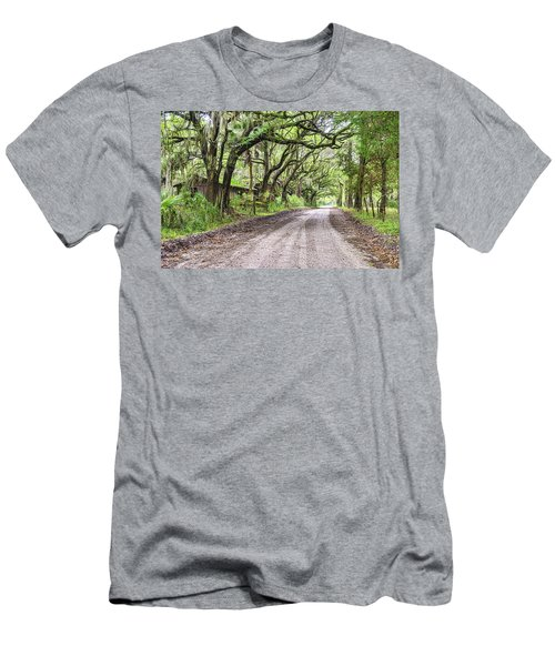 Sheep Farm On Witsell Rd Men's T-Shirt (Slim Fit) by Scott Hansen
