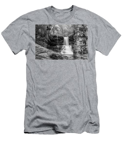 Sheldon Reynolds Falls - 8581 Men's T-Shirt (Athletic Fit)